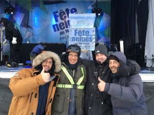 Équipe_Fêtes des Neiges 2015